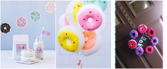 donut-party-decorazioni