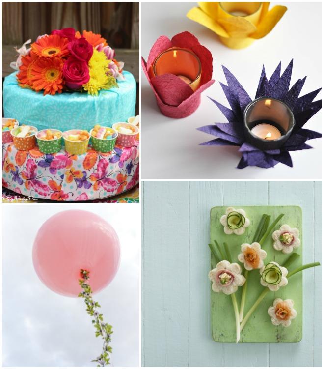 Festa di primavera idee e decorazioni fai da te feste e - Decorazioni per compleanni fai da te ...