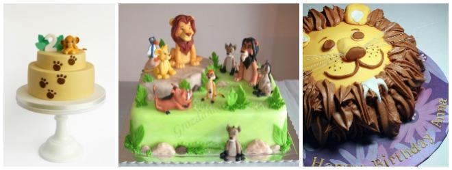 festa-a-tema-re-leone-torta