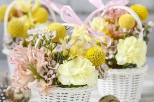 Tutorial: Centrotavola floreale di Pasqua