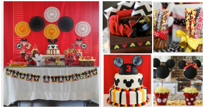 Festa di compleanno gemelli maschio e femmina feste e for Decorare la stanza di minnie e topolino
