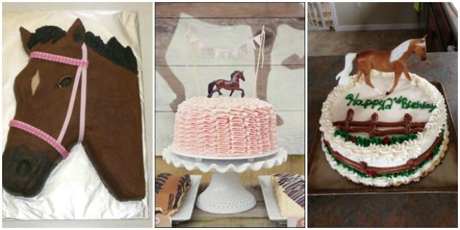 festa-a-tema-cavalli-pony-torta