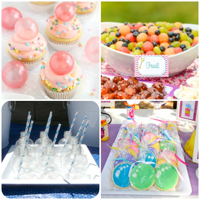 festa-bolle-di-sapone-buffet