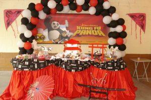 Festa di compleanno a tema Kung Fu Panda