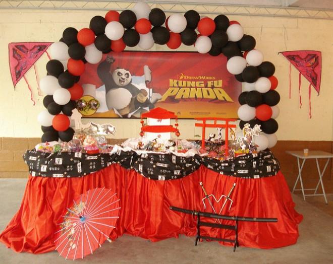 allestimento-rosso-kung-fu-panda