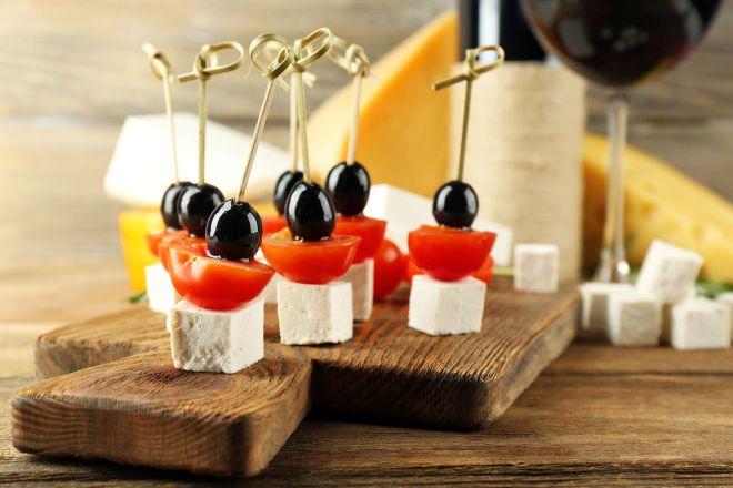 Molto Ricette di spiedini e stuzzichini per buffet | Feste e compleanni CY56