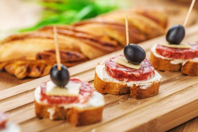 spesso Ricette di spiedini e stuzzichini per buffet | Feste e compleanni VV58