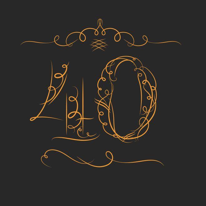 Super Festa di compleanno 40 anni – Lui | Feste e compleanni NW61