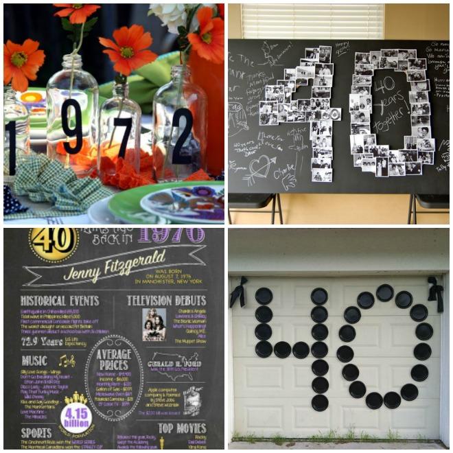 Molto Festa di compleanno 40 anni – Lui | Feste e compleanni CG99