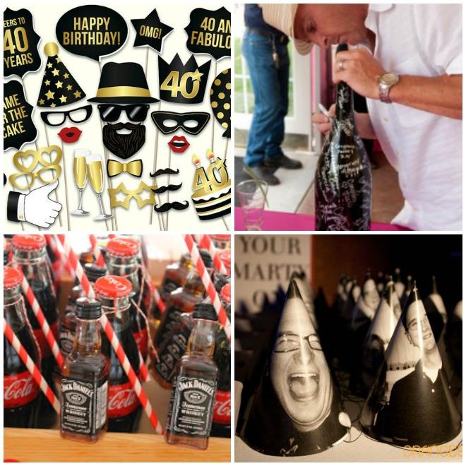 Super Festa di compleanno 40 anni – Lui | Feste e compleanni GC03