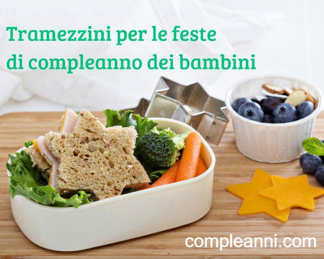 Favorito Tramezzini per le feste di compleanno dei bambini | Feste e compleanni GN29