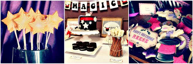 festa tema magia