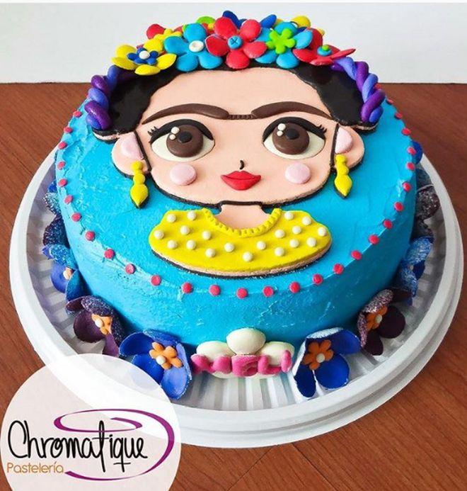 festa-compleanno-tema-messico-frida-kahlo-torta