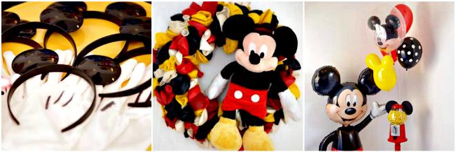 decorazioni festa topolino