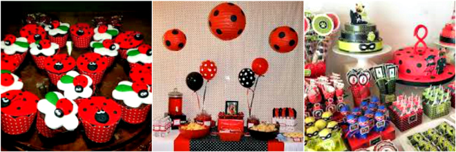 Festa a tema lady bug for Decorazioni torte ladybug