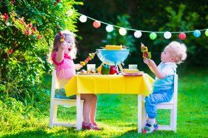Come organizzare una festa per bambini in giardino