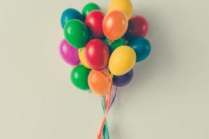 come creare una colonna di palloncini